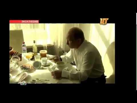 Президент Путин пьет перепелиные яйца!