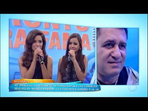 'Princesas Do Sertanejo' Ganham Surpresas E Encontram ídolos No Palco Do Programa