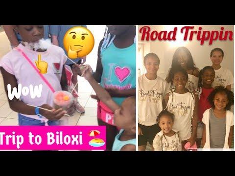 FAMILY ROAD TRIPPIN BILOXI BEACH MISSISSIPPI