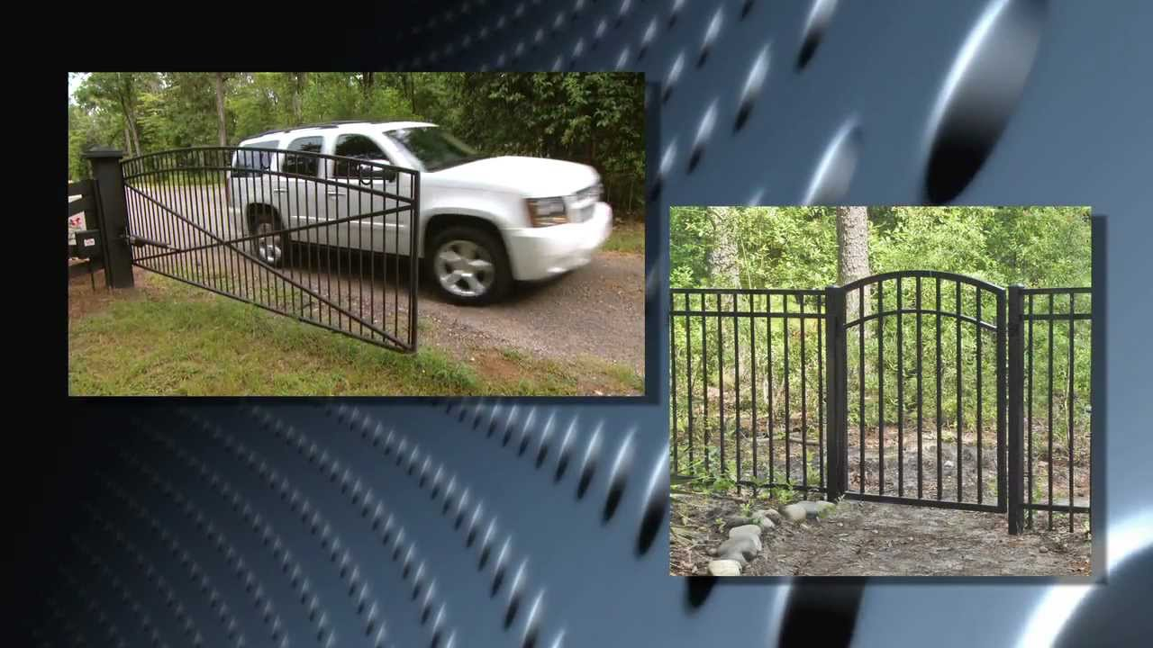 Mighty Mule Mm600 Et Automatic Gate Opener Installation Video Youtube