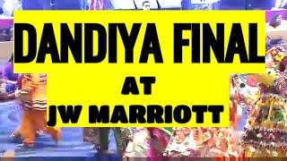 NAVRATRI | RAAS COMPETITION | FINAL ROUND | JW MARRIOTT | DANDIYA DANCE VIDEO