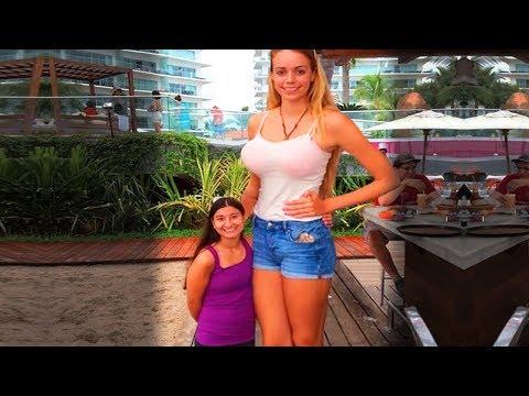Tallest Women on Earth!  Tallest Female Wrestler