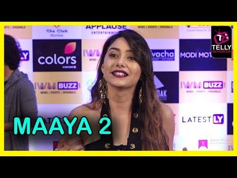 Leena Jumani Talks About The Kissing Scene In Maaya 2 | IWM Buzz Party