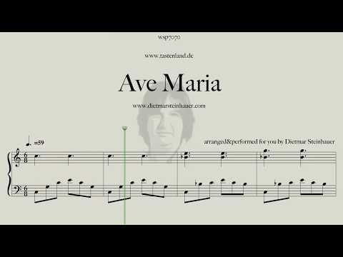Ave Maria  -  the Schubert Version in my Arrangement
