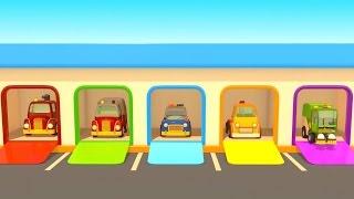 Lehrreicher Cartoon - Rettungsfahrzeuge - Teil 1 - Das Rettungsteam