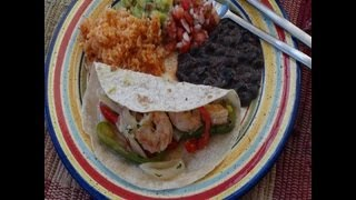 How To Make Shrimp Fajitas