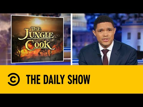 Amazon Rainforest Fire Now Two-Thirds The Size of The U.S.   The Daily Show With Trevor Noah