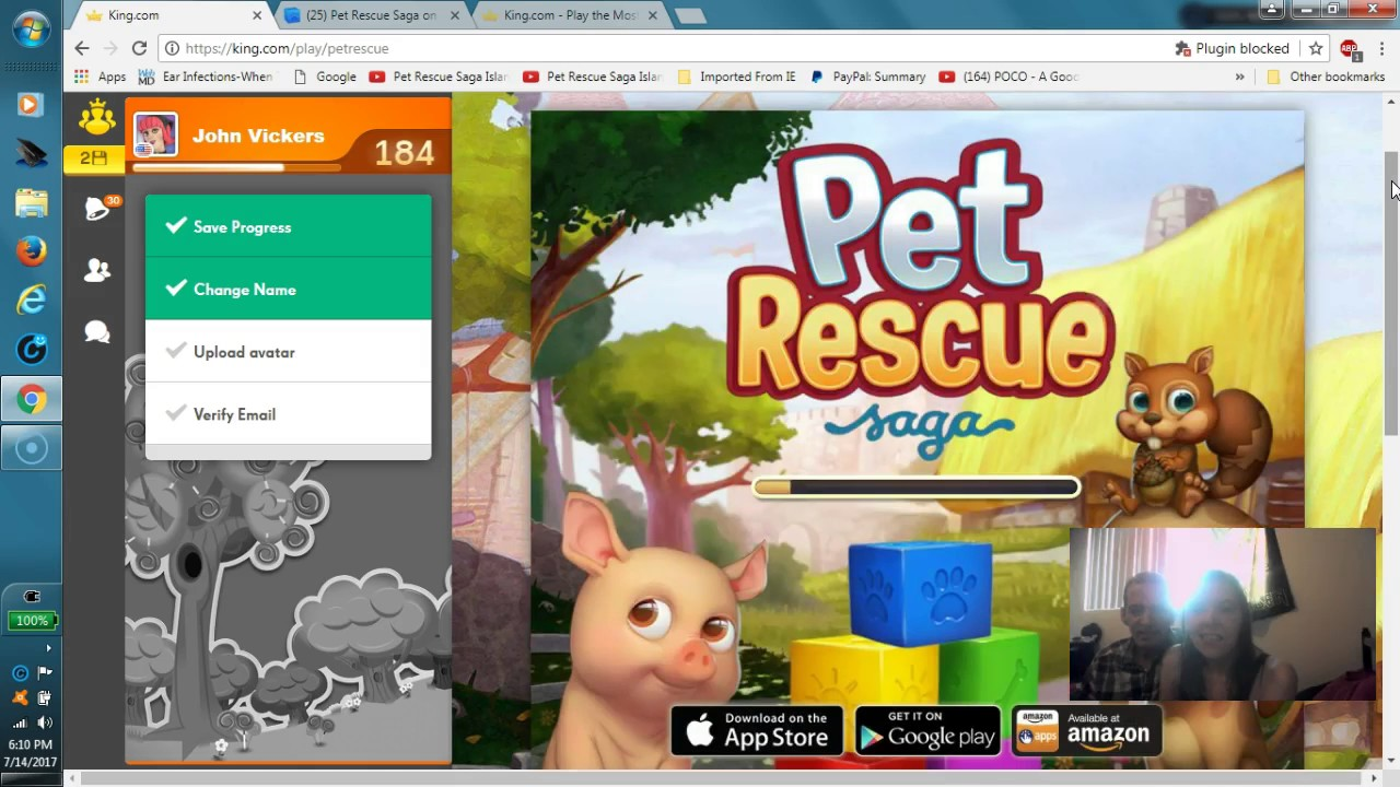 pet rescue saga per pc