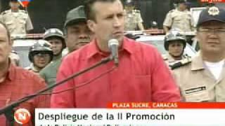 Gobierno Bolivariano desplegó segunda promoción de la PNB en parroquia Sucre