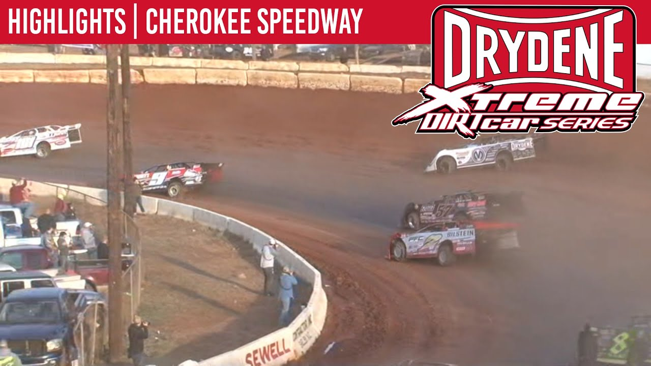 Drydene Xtreme DIRTcar Series Cherokee Speedway January 26th, 2020 | HIGHLIGHTS