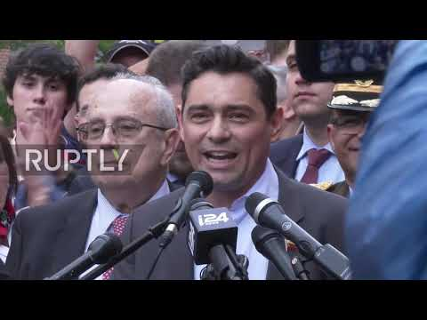 USA: Venezuelan opposition hails eviction of pro-Maduro activists from Venezuelan Embassy