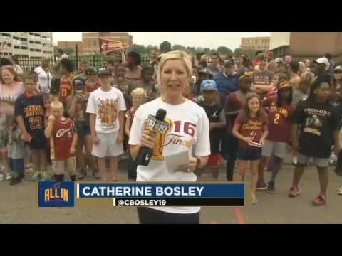 Cavs championship celebration continues in Akron