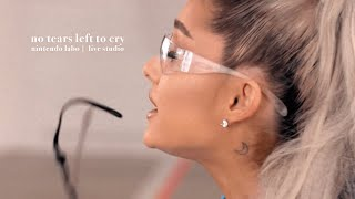 Ariana Grande, Jimmy & The Roots - no tears left to cry (Nintento Labo | Studio Version)