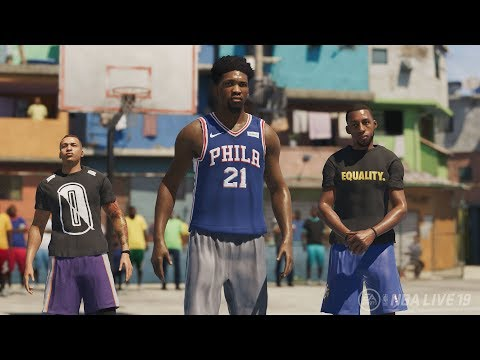 NBA LIVE 19 - OFFICIAL REVEAL TRAILER! NEW FEATURES & BREAKDOWN!