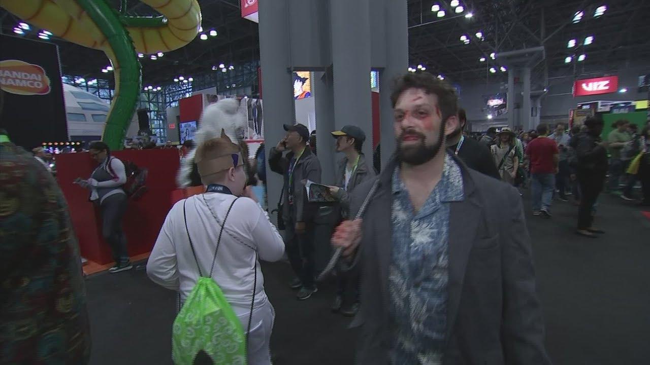 Cosplay on full display at NY Comic-Con