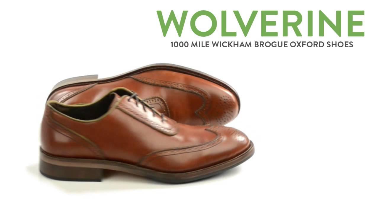 758f01d1c9d Wolverine 1000 Mile Wickham Brogue Oxford Shoes (For Men)