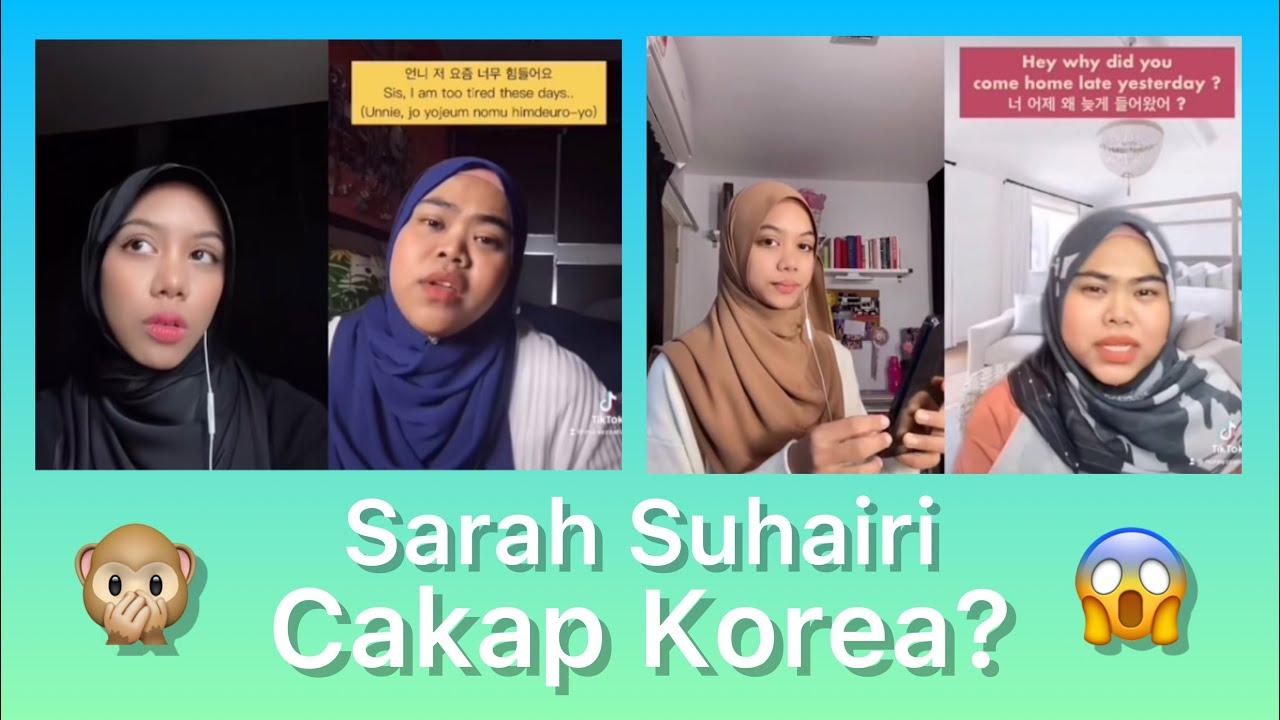Rupanya Sarah Suhairi power cakap korea? (Duet Challenge)