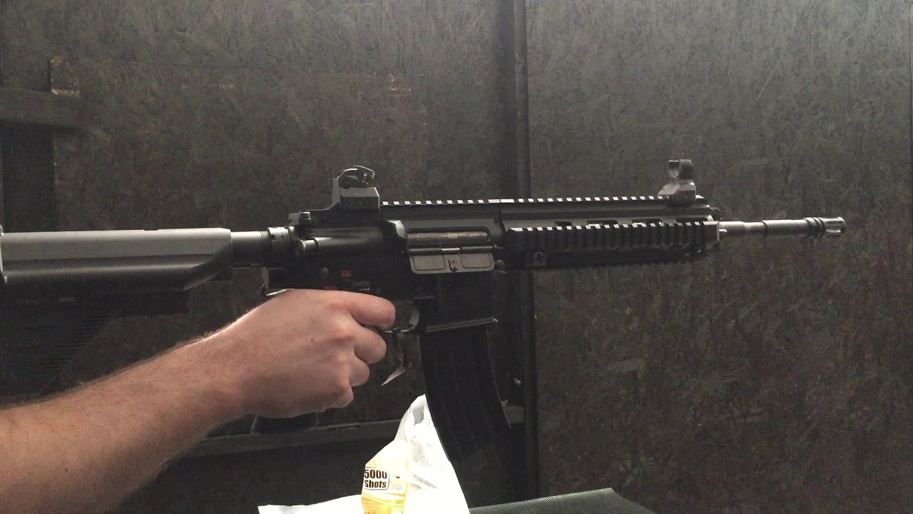 Workshop - Testing - HK416D - Lvl6 Prometheus / Firefly Parts, BTC spectre  Mk2