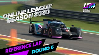 LOR ONLINE LEAGUE SEASON 2020- Round 5 Reference Lap