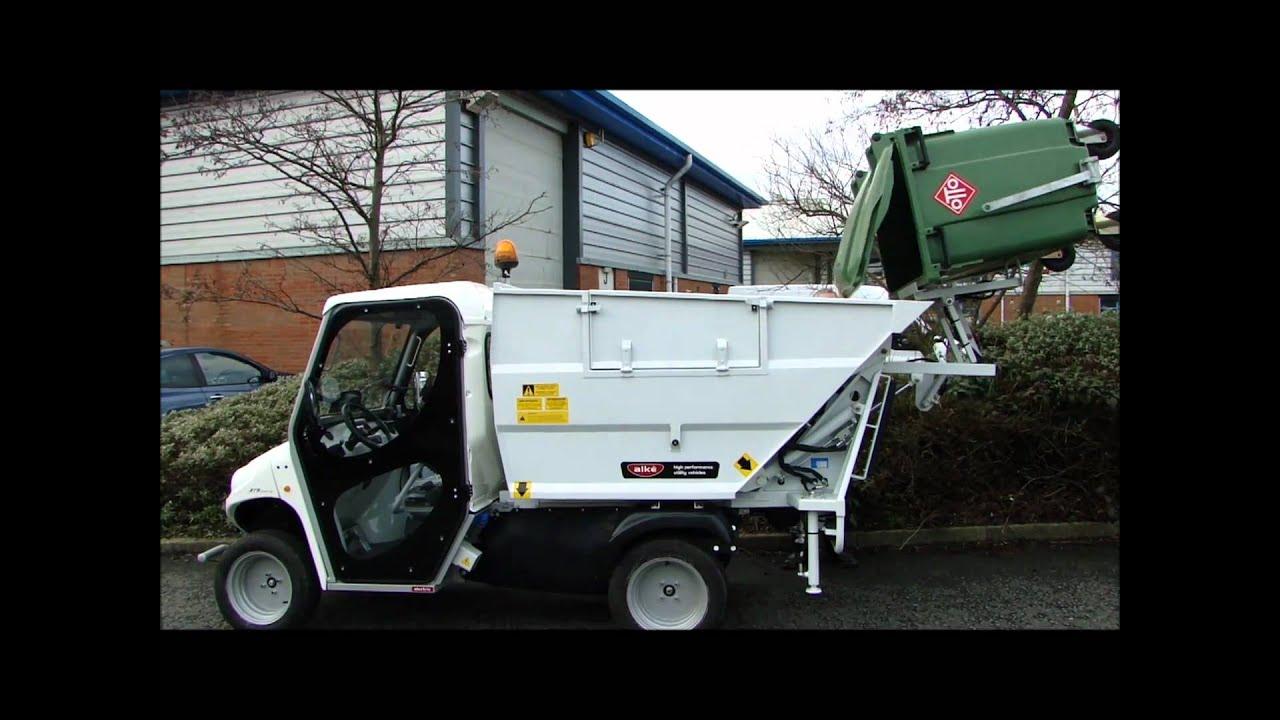 Sport Utility Vehicles >> ePowerTrucks Alke ATX 200E AR Waste Management Electric Vehicle - YouTube