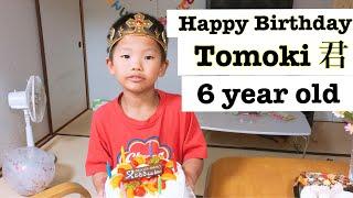 Chúc mừng con trai tròn 6 tuổi - Happy Birthday my son