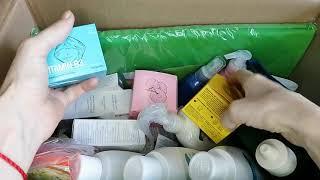 Распаковка заказа по 5 каталогу НОВИНКИ маски для лица Опять заказали коврик Сыворотка для лица