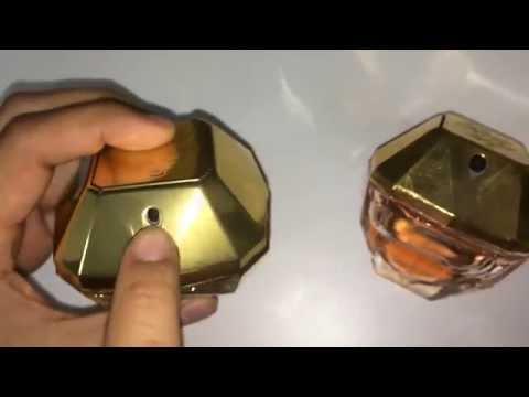 Paco Rabanne Lady Million - Как отличить оригинал от реплики (вскрытие упаковки)?