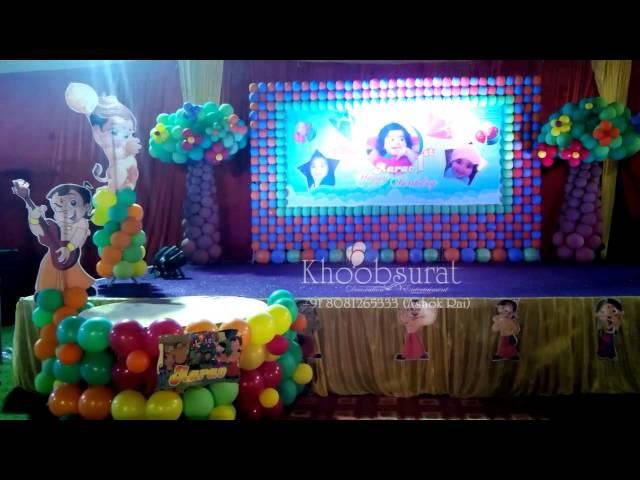 best 1st birthday theme  party organiser khoobsurat +91 8081265333
