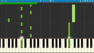 Brian Crain - Dream of Flying - Synthesia Tutorial