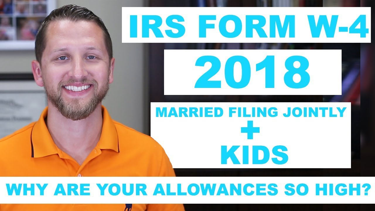 How to fill out the irs form w 4 2018 married filing jointly kids how to fill out the irs form w 4 2018 married filing jointly kids online version falaconquin