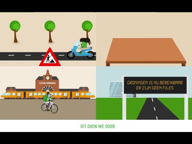 Groningen Bereikbaar - Introductiefilm (ondertiteld)