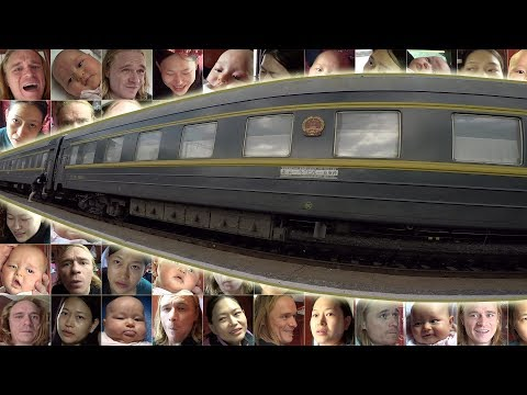 A Baby Takes the Trans-Mongolian Railway From Russia to Mongolia!