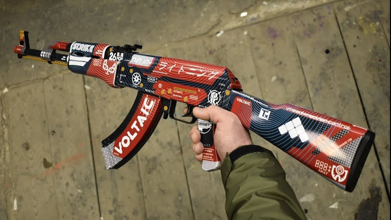 HOW TO MAKE AK47 BLOOD SPORT from CS GO