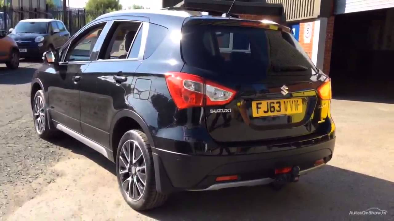suzuki sx4 s cross sz5 allgrip black 2013 youtube. Black Bedroom Furniture Sets. Home Design Ideas