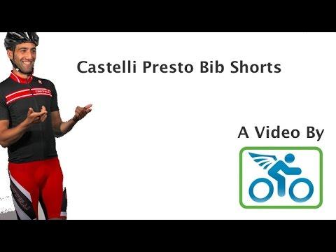 Castelli Presto Bib Short- A Great Bib!