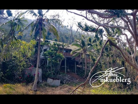 Abandoned Luxury Tropical Pole Home After The Cyclone