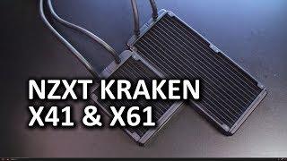 NZXT Kraken X41 & X61 Liquid Coolers