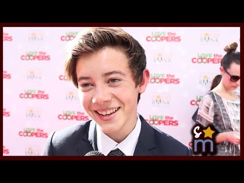 Griffin Gluck Talks MIDDLE SCHOOL: THE WORST YEARS OF MY LIFE & The Holidays
