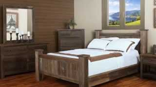 Barnboard Bedroom Furniture From Log Furniture And More