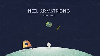 Нил Армстронг о Луне (Neil Armstrong about the moon)