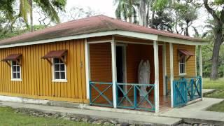"The birthplace of Fidel Castro ""Casa Natal de Fidel Castro"" in Birán (Cuba) is now a museum"