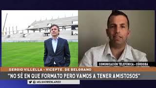 Belgrano   Sergio Villela en El Show En La Red 28 09 2020