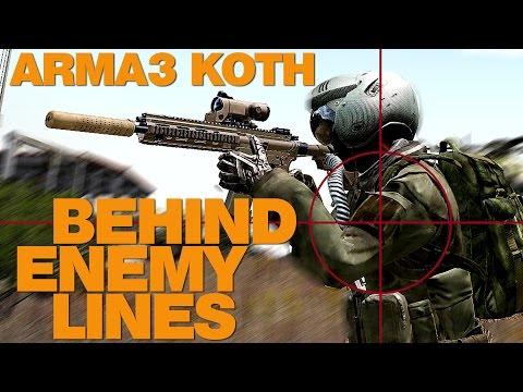 ARMA 3 King Of The Hill SPAR-16 EPIC 40+ Kills
