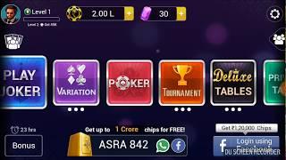 How to play poker in TEEN PATTI GOLD bangla tutorial screenshot 4
