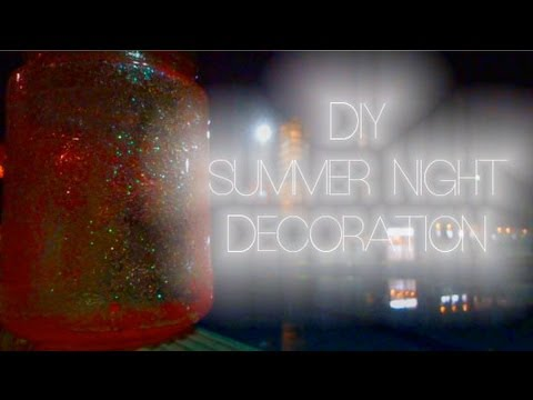 DIY Easy Summer Night Decoration Pool Party Room