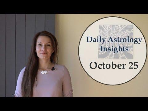 Daily Astrology Horoscope: October 25 | Moon trine Pluto
