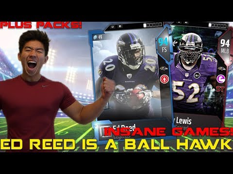 ED REED IS A BEAST! PACK LUCK! Madden 18 Ultimate Team