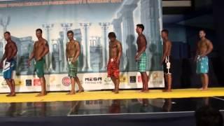 Пляжный Бодибилдинг - Чемпионат Минска 2014