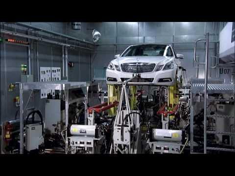Testing new Mercedes-Benz E-Class 2010