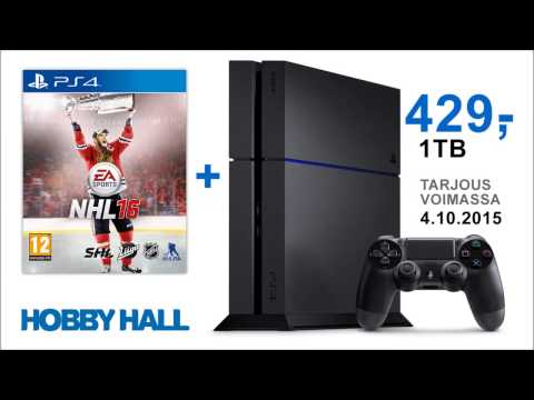 Tarjous: PS4 Ultimate Player Edition 1 TB + NHL16